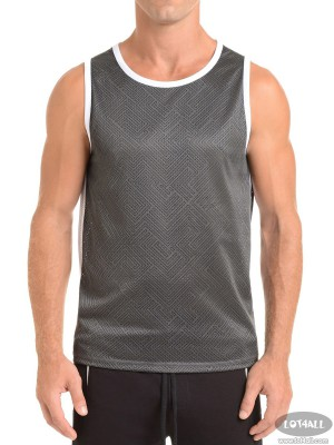 Áo thể thao nam 2(x)ist Transcendence Mesh Muscle Tank Charcoal