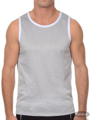 Áo thể thao nam 2(x)ist Transcendence Mesh Muscle Tank Essential Grey