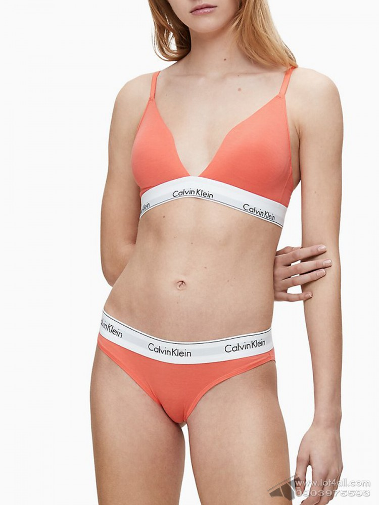 Quần lót nữ Calvin Klein F3787 Modern Cotton Modal Bikini Sunset