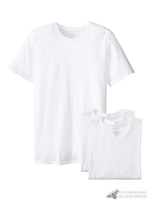 Áo lót nam Calvin Klein NB1176 Slim Fit Crew Neck T-shirt 3-pack White
