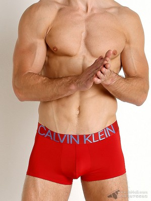 Quần lót nam Calvin Klein NB1702 Statement 1981 Low Rise Trunk Haute Red