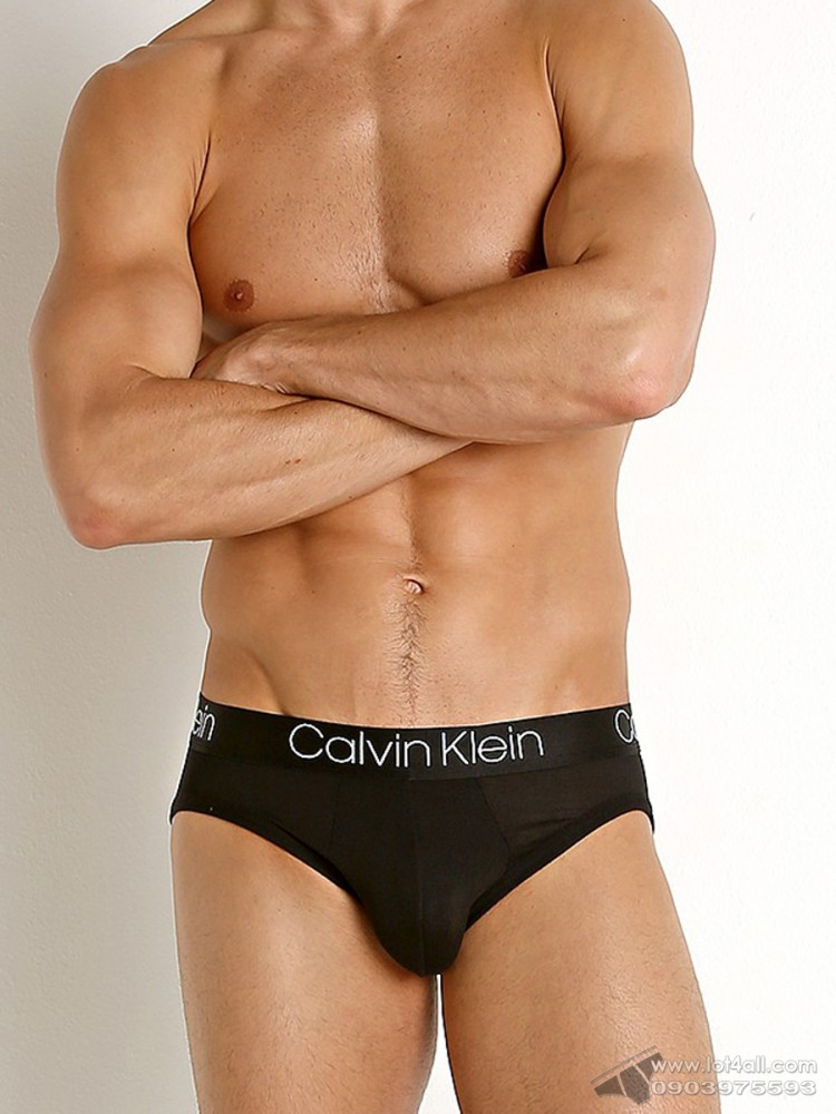 Quần lót nam Calvin Klein NB1795 Ultra Soft Modal Hip Brief Black
