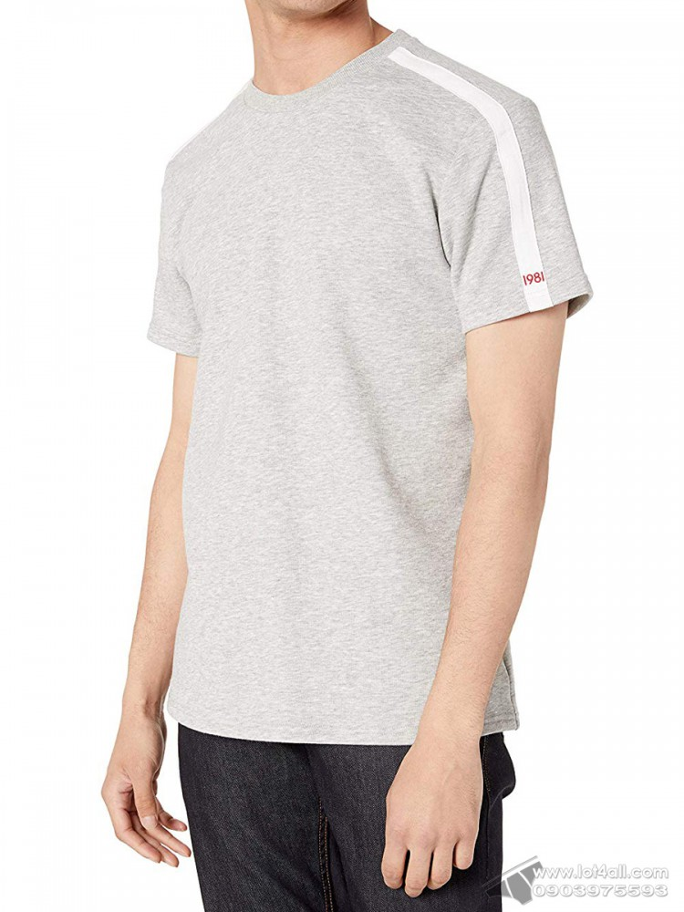 Áo thun nam Calvin Klein NM1614 Statement 1981 Lounge Crewneck T-Shirt Grey Heather