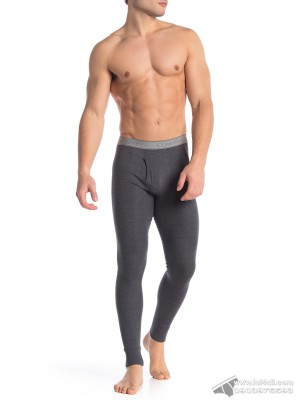 Quần lót nam Calvin Klein NP2090O Textured Long Johns Charcoal