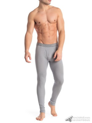 Quần lót nam Calvin Klein NP2090O Textured Long Johns Wolf Grey