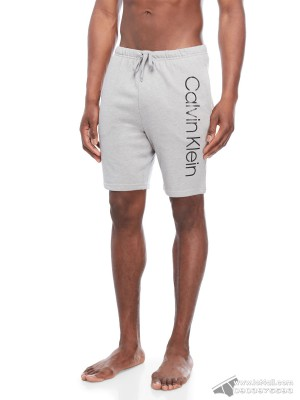 Quần short nam Calvin Klein NP2116O Knit Jam Short Wolf Grey Heather