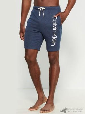 Quần short nam Calvin Klein NP2116O Knit Jam Short Mood Indigo