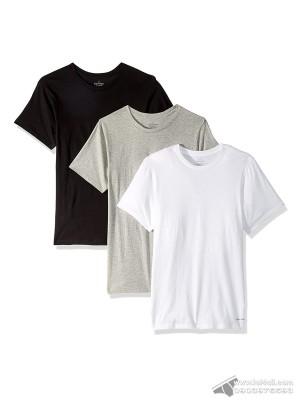 Áo lót nam Calvin Klein NP2205O Cotton Classic Fit Crew Neck T-shirt 3-pack Black/Grey/White