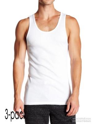 Áo lót nam Calvin Klein NP2207O Scoop Neck Muscle Tank 3-pack White