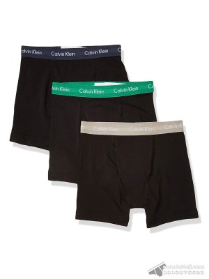 Quần lót nam Calvin Klein NU2666 Cotton Stretch Classic Boxer Brief 3-pack Black