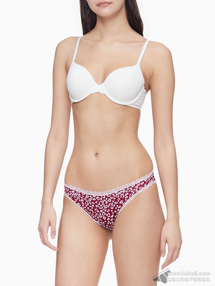 Quần lót nữ Calvin Klein QD3706 Flirty Micro Bikini Shadow Animal
