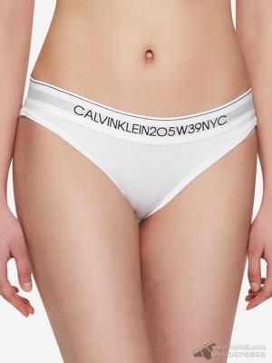 Quần lót nữ Calvin Klein QF4577 205W39NYC Logo Bikini White