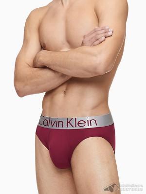 Quần lót nam Calvin Klein U2715O Steel Micro Hip Brief Raspberry Jam