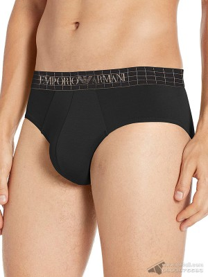 Quần lót nam Emporio Armani Iconic Soft Modal Brief Black