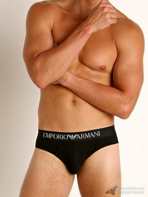 Quần lót nam Emporio Armani Organic Stretch Cotton Brief Black