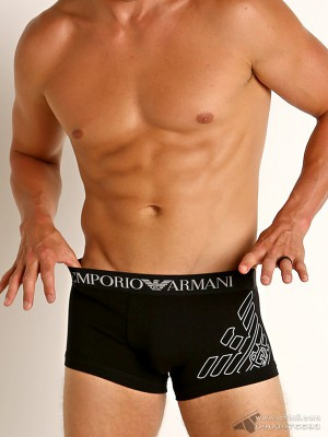 Quần lót nam Emporio Armani Organic Stretch Cotton Trunk Black
