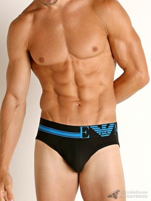 Quần lót nam Emporio Armani Athletics Cotton Brief Black