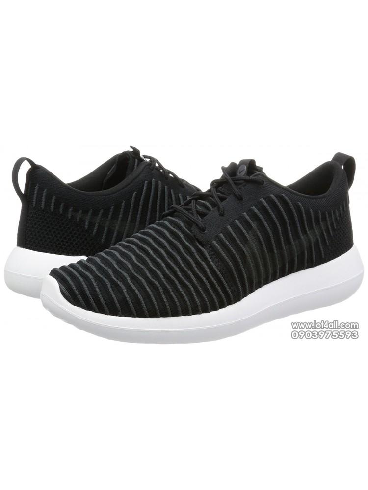 Giày nam Nike Roshe Two Flyknit Black