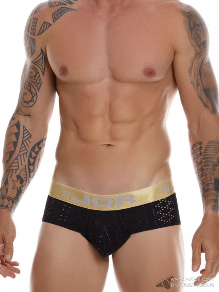 Quần lót nam JOR 0935 Charles Brief Black
