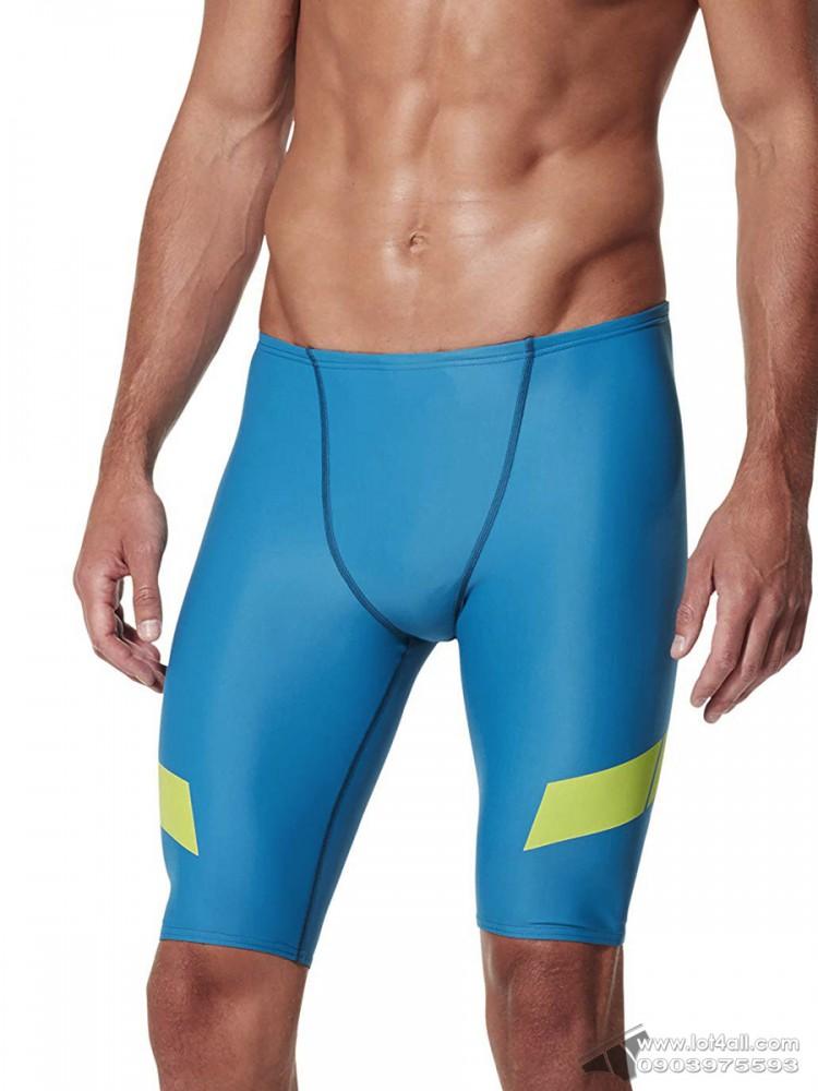 Quần bơi nam Speedo Speed Bar Jammer Amalfi Blue