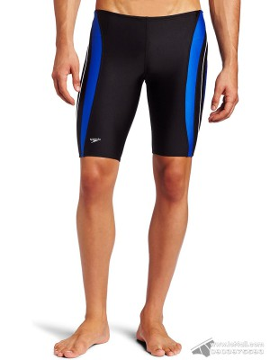 Quần bơi nam Speedo Xtra Life Lycra Rapid Splice Jammer Black/Blue