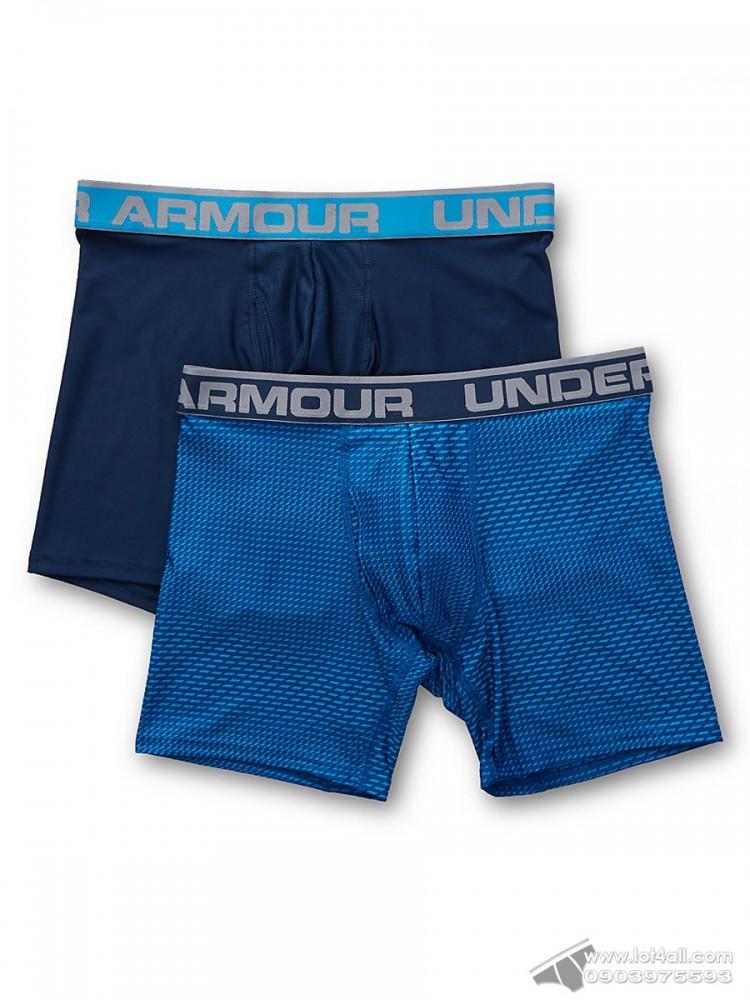 "Quần lót nam Under Armour Original 6"" Novelty Boxerjock 2-pack Studio/Black"