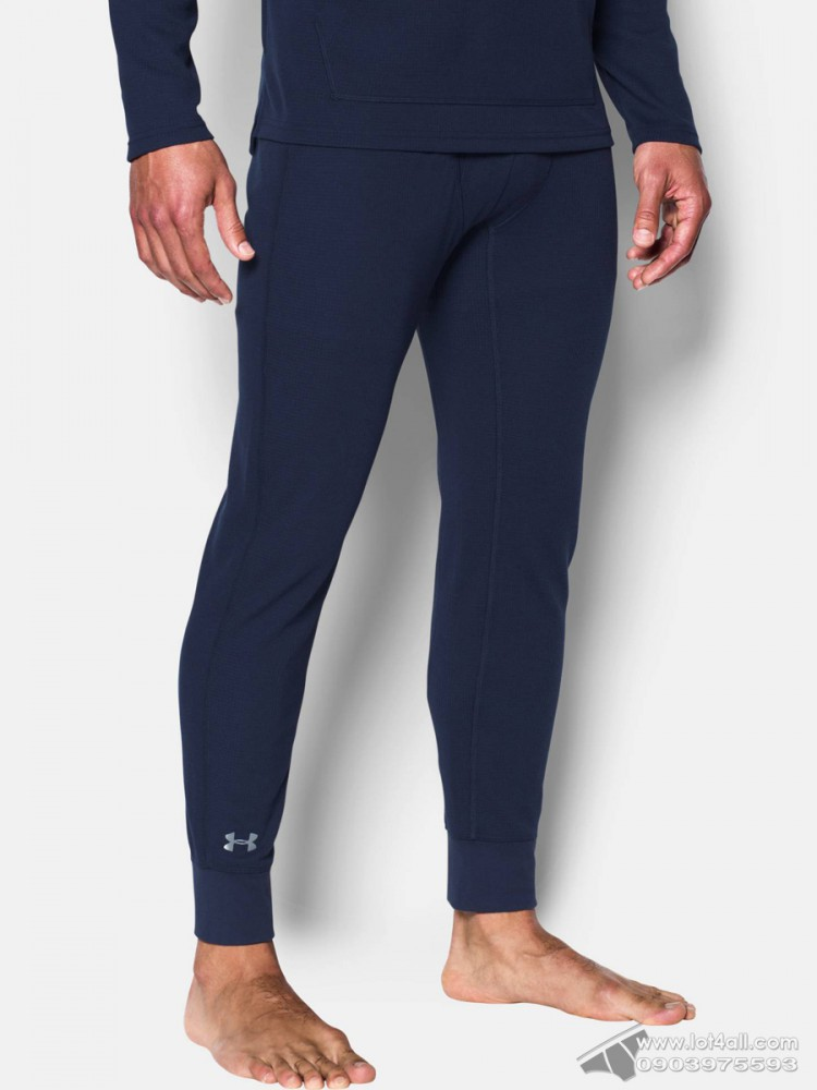 Quần lót nam Under Armour Waffle Legging Midnight Navy