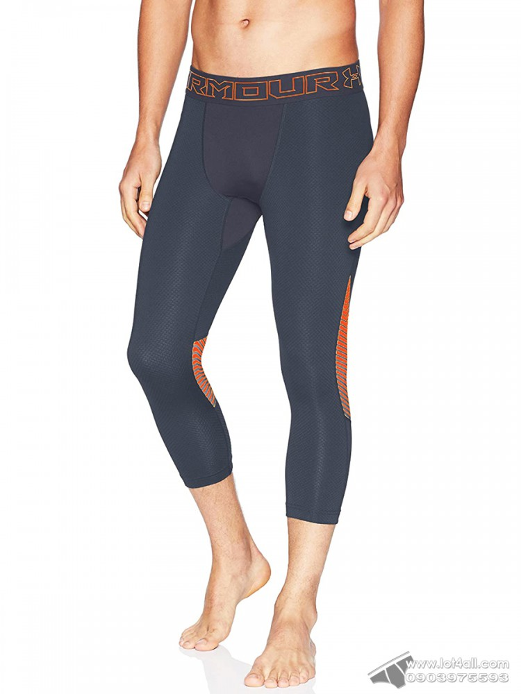 Quần lót nam Under Armour Coldgear Reactor ¾ Legging Stealth Gray