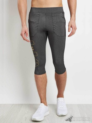 Quần lót nam Under Armour Perpetual Half Legging Black