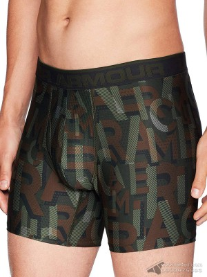 Quần lót nam Under Armour Original Series Printed Boxerjock Graphite/Black