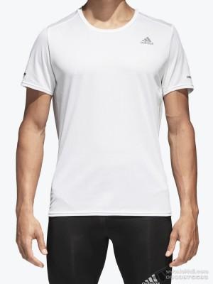 Áo thể thao nam Adidas Running Tee White