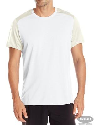 Áo thể thao nam Adidas Running Response Short Sleeve White