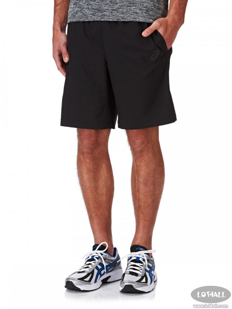 Quần short nam ASICS Woven 9-Inch Short Black
