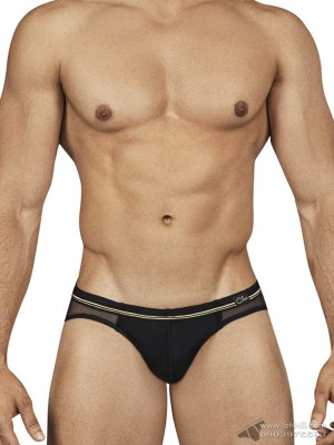 Quần lót nam Clever 0144 Deep Brief Black