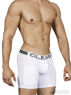 Quần lót nam Clever 0153 Connection Boxer Brief White