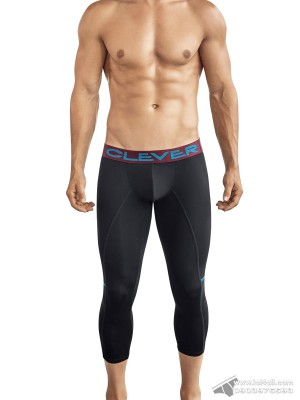 Quần lót nam Clever 0316 Power Athletic Pant Black