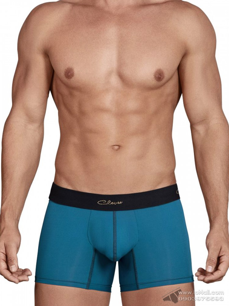 Quần lót nam Clever 2434 Respect Boxer Brief Green