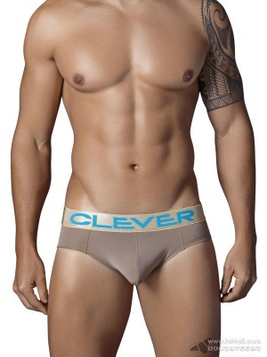 Quần lót nam Clever 5323 Navy Latin Brief Brown