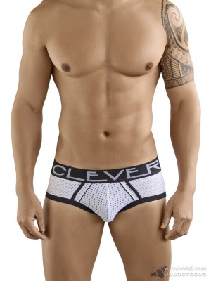Quần lót nam Clever 5359 Extra Sense Piping Brief White