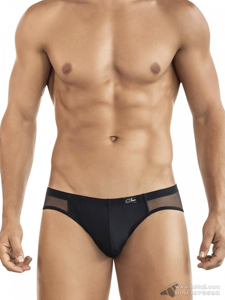 Quần lót nam Clever 5432 Style Latin Brief Black