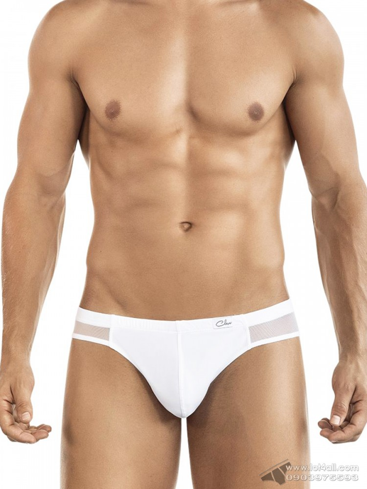 Quần lót nam Clever 5432 Style Latin Brief White