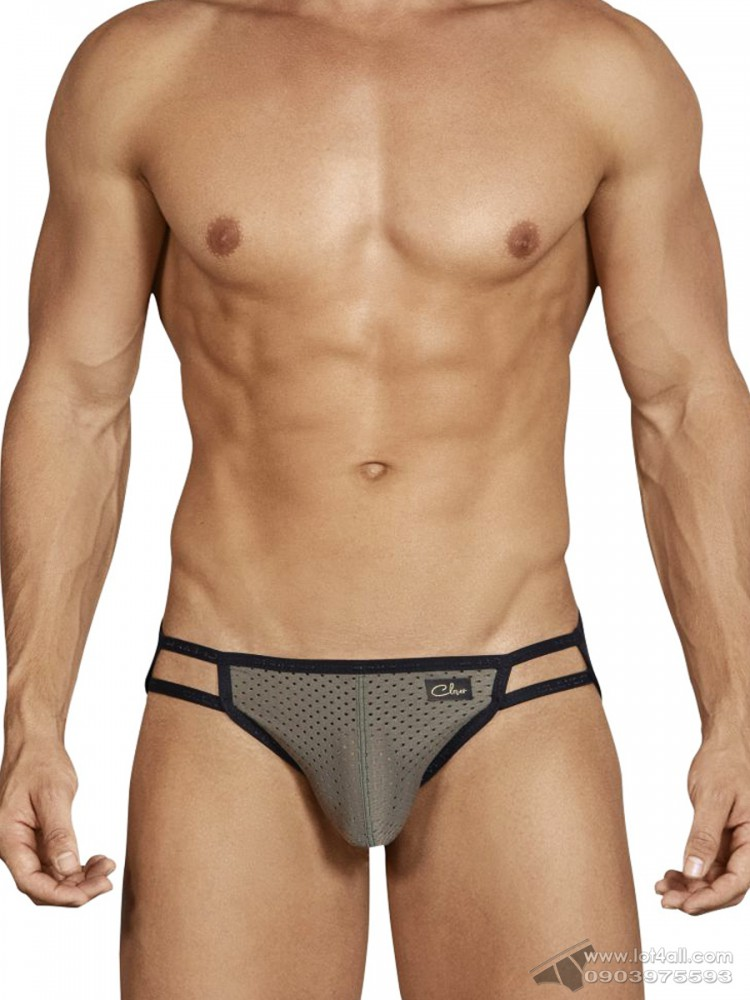Quần lót nam Clever 5443 Boias Brief Green