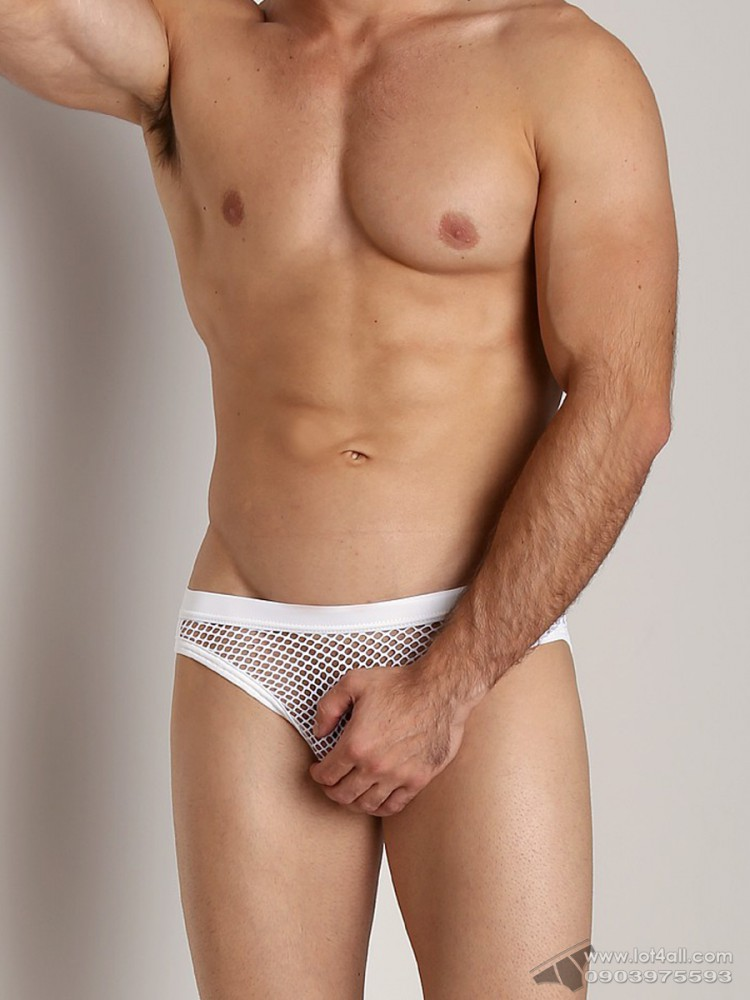 Quần lót nam Gregg Homme 110203 Beyond Doubt Mesh Brief White