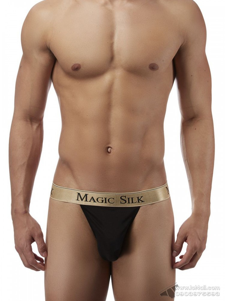 Quần lót nam Magic Silk 4586 Silk Knit Micro Thong Black