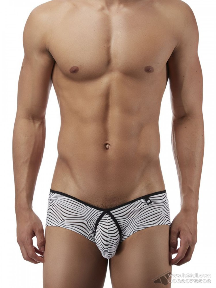 Quần lót nam Male Power 130234 Tranquil Abyss Micro Mini Short Brief White