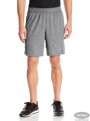 Quần thể thao nam New Balance Knit Short Black Heather