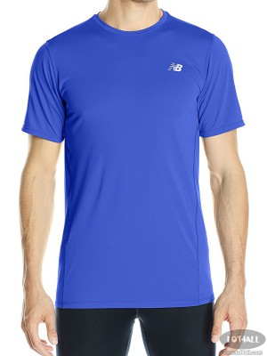 Áo thể thao nam New Balance Accelerate Short Sleeve Shirt Pacific