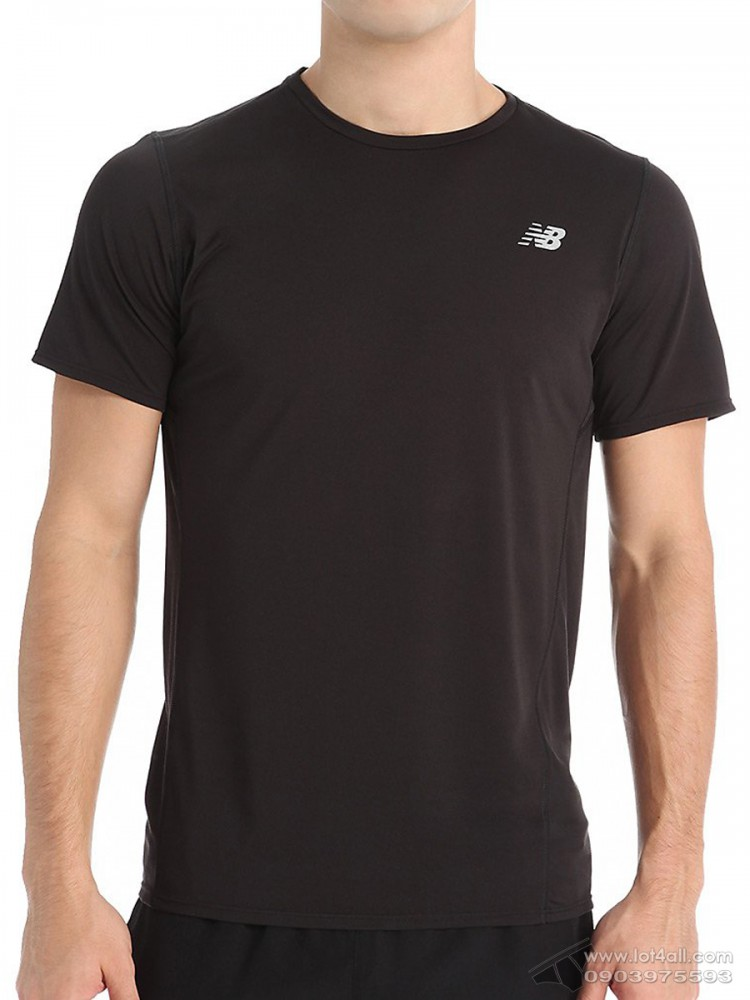 Áo thể thao nam New Balance Accelerate Short Sleeve Shirt Black