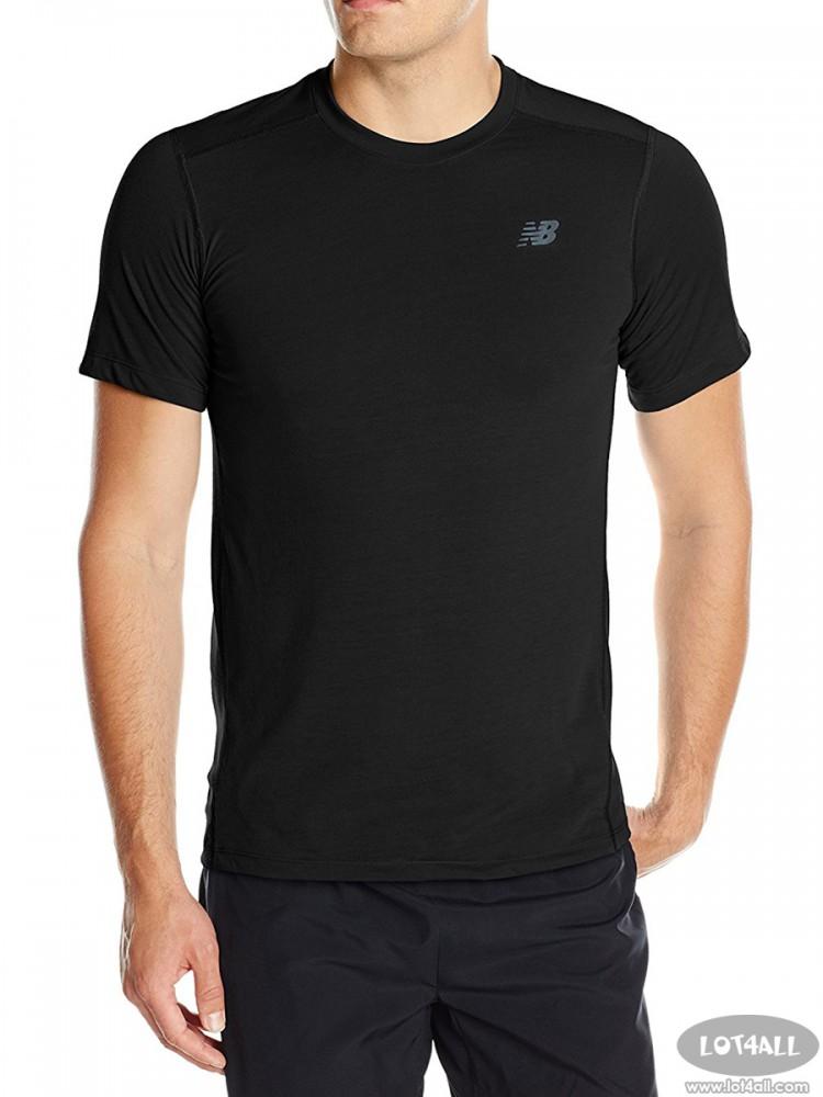 Áo thể thao nam New Balance Short Sleeve Performance Tee Black