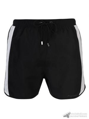 Quần đi biển Pierre Cardin Panelled Swim Short Black/White/Khaki